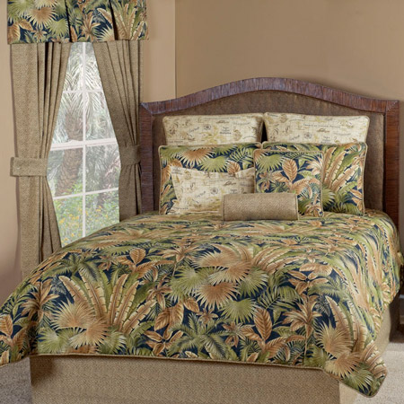 Bahamian Nights Grand Suite Bedding Set