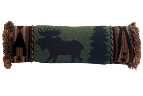 Moose Neckroll Pillow