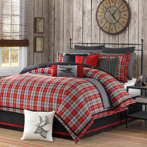 Williamsport Plaid Bedding