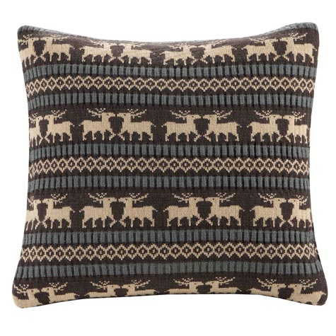 Brownstone Knitted Pillow