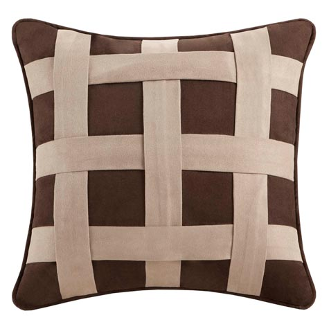 Brownstone Lattice Pillow