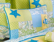 Beach Bum Standard Bedding Set