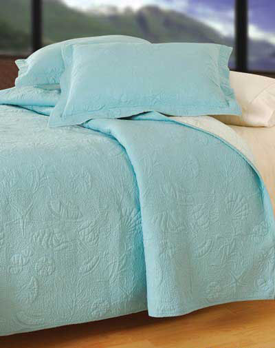 Blue Comforter on Solid Color Bedding    Solid Blue Shell Bedding    Solid Blue