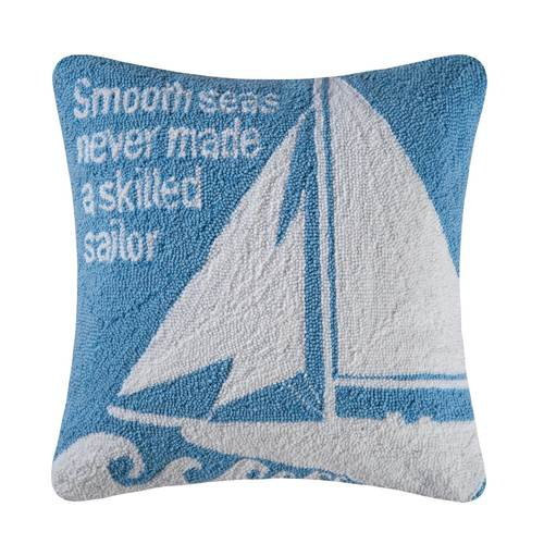 Old Port Cove Sailboat Pillow