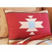Canyon Dance Earth Southwestern Standard Pillow Sham