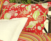 Coral Shells Standard Pillow Sham