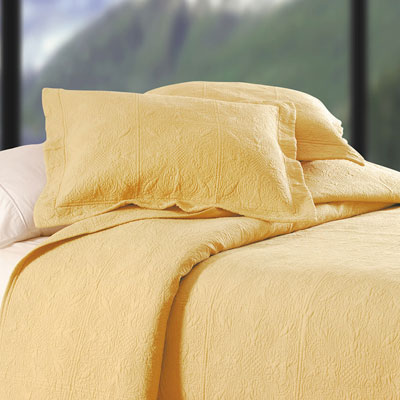 Cornsilk Matelasse Throw Pillow