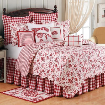 Devon Cranberry Oversized Quilt