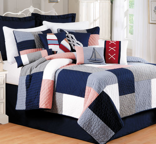 Newport Pier Luxury Oversized Quilt
