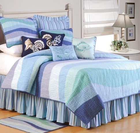 Ocean Wave Bedding