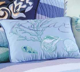 Ocean Wave Luxury Oversized Quilt