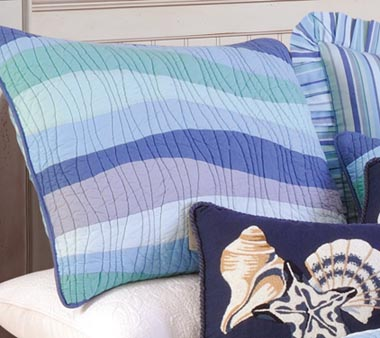 Ocean Wave Standard Pillow Sham
