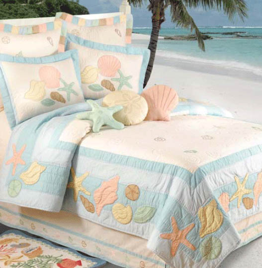 bedrooms seashell twin best and bedding shell queen on set sea images sets comforter