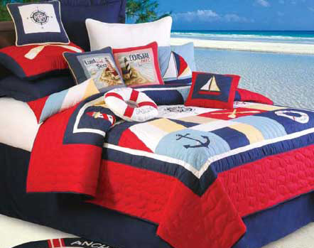 Sail Away Bedding